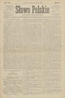 Słowo Polskie. 1900, nr137