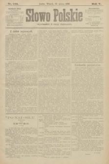 Słowo Polskie. 1900, nr143