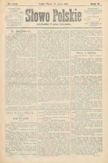 Słowo Polskie. 1900, nr149