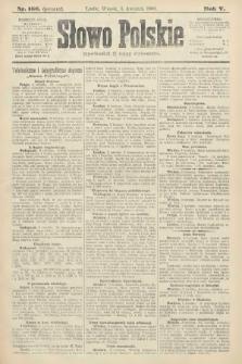 Słowo Polskie (wydanie poranne). 1900, nr156