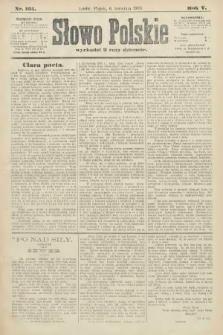 Słowo Polskie. 1900, nr161