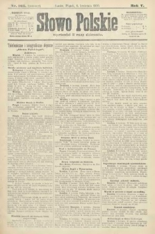 Słowo Polskie (wydanie poranne). 1900, nr162
