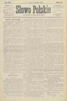 Słowo Polskie. 1900, nr163