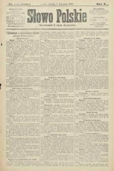 Słowo Polskie (wydanie poranne). 1900, nr164