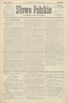 Słowo Polskie. 1900, nr167