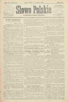 Słowo Polskie (wydanie poranne). 1900, nr170