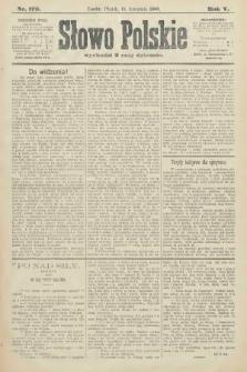 Słowo Polskie. 1900, nr173
