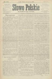 Słowo Polskie. 1900, nr183