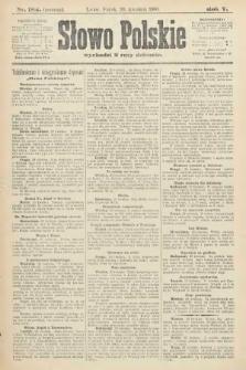 Słowo Polskie (wydanie poranne). 1900, nr184