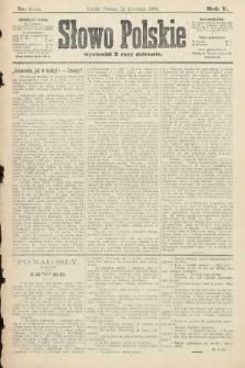 Słowo Polskie. 1900, nr185