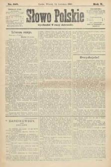 Słowo Polskie. 1900, nr189