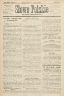 Słowo Polskie (wydanie poranne). 1900, nr192