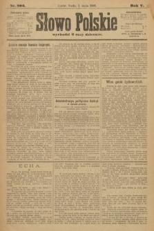Słowo Polskie. 1900, nr203