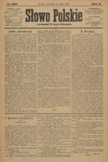Słowo Polskie. 1900, nr205