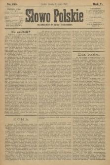 Słowo Polskie. 1900, nr215