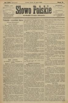 Słowo Polskie (wydanie poranne). 1900, nr216
