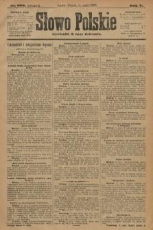 Słowo Polskie (wydanie poranne). 1900, nr220