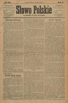 Słowo Polskie. 1900, nr221