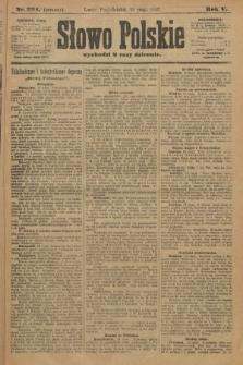 Słowo Polskie (wydanie poranne). 1900, nr224
