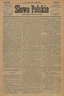 Słowo Polskie. 1900, nr231