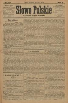 Słowo Polskie. 1900, nr235