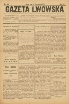 Gazeta Lwowska. 1899, nr 14