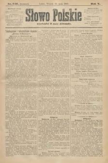 Słowo Polskie (wydanie poranne). 1900, nr249