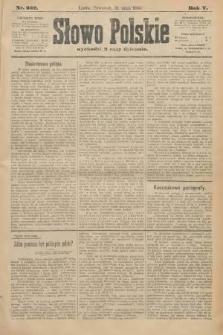 Słowo Polskie. 1900, nr252