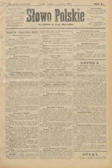 Słowo Polskie (wydanie poranne). 1900, nr276