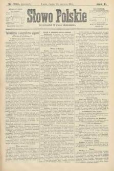 Słowo Polskie (wydanie poranne). 1900, nr284