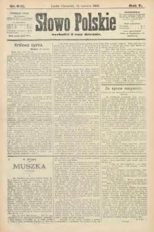 Słowo Polskie. 1900, nr285
