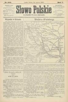 Słowo Polskie. 1900, nr289