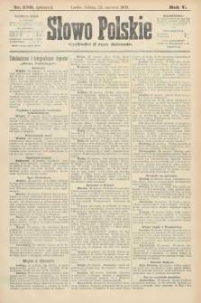Słowo Polskie (wydanie poranne). 1900, nr290