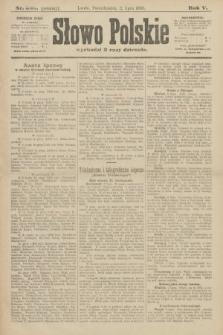 Słowo Polskie (wydanie poranne). 1900, nr303
