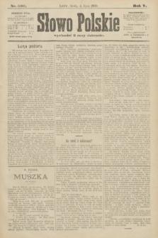 Słowo Polskie. 1900, nr306