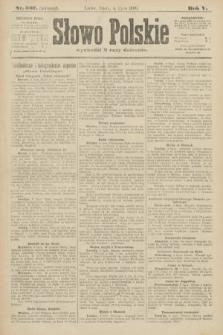 Słowo Polskie (wydanie poranne). 1900, nr307
