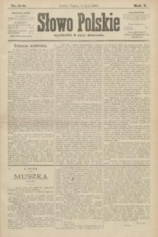 Słowo Polskie. 1900, nr310