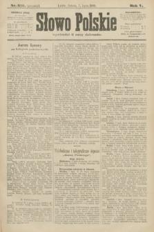 Słowo Polskie (wydanie poranne). 1900, nr313