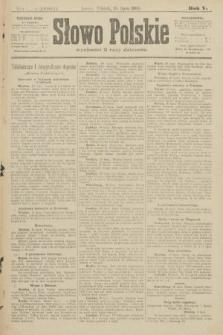 Słowo Polskie (wydanie poranne). 1900, nr317