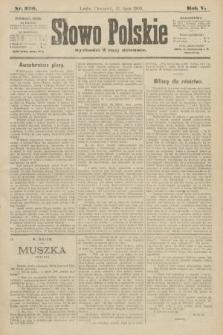 Słowo Polskie. 1900, nr320