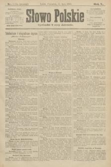 Słowo Polskie (wydanie poranne). 1900, nr321