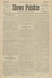 Słowo Polskie. 1900, nr322
