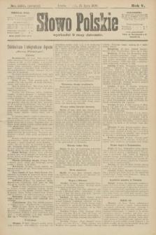 Słowo Polskie (wydanie poranne). 1900, nr323