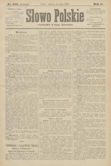 Słowo Polskie (wydanie poranne). 1900, nr325