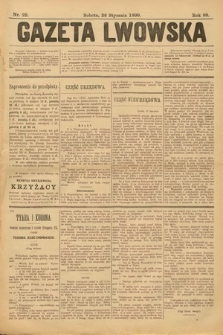 Gazeta Lwowska. 1899, nr 22