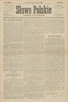 Słowo Polskie. 1900, nr328