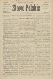 Słowo Polskie (wydanie poranne). 1900, nr329