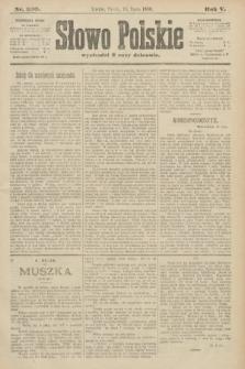 Słowo Polskie. 1900, nr330