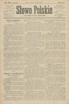 Słowo Polskie (wydanie poranne). 1900, nr331