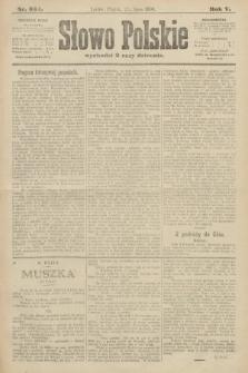 Słowo Polskie. 1900, nr334